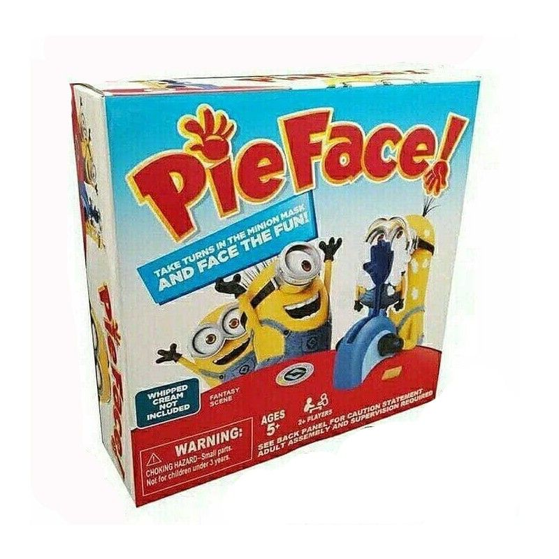 Pie Face Minion