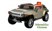 Mobil Aki Hummer - Official Licensed - Metallic Green