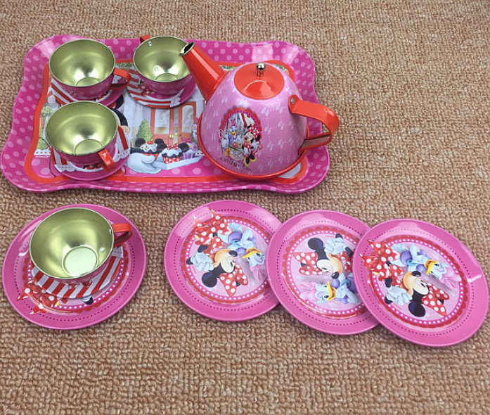 mainan anak - Minie Mouse Tea Set