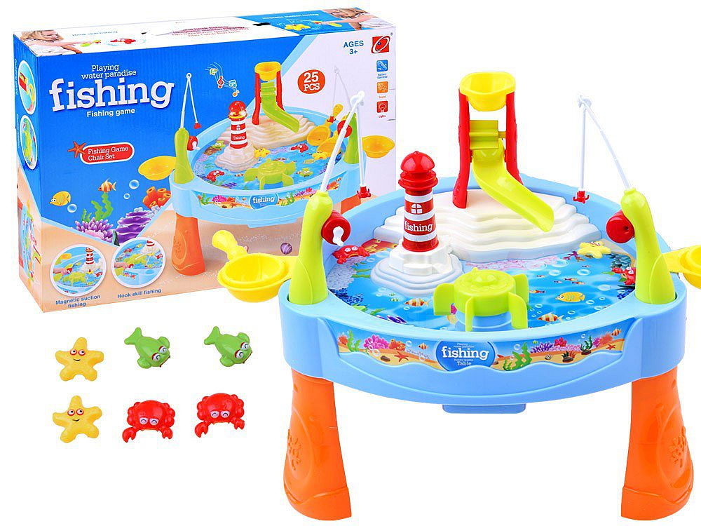 Tomindo mainan pancingan ikan - fishing game water paradise 889-68