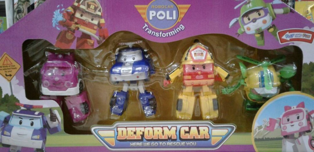 Robocar Poli Deform Car 378C