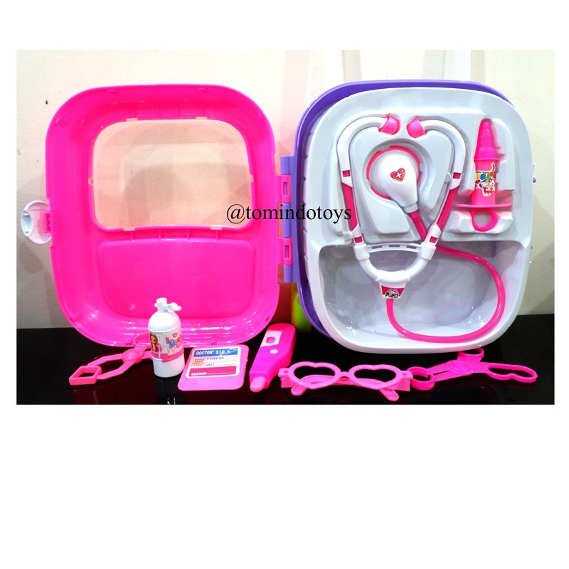 Doctor Set Trolley Pink SD169-42