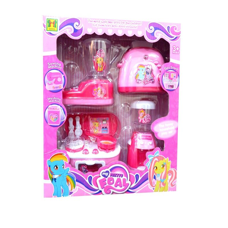 Mini Kitchen Set Little Pony