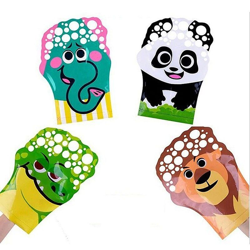 Gloves Bubble Animal