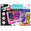 mainan edukasi - 3D MAGIC DRAWING BOARD - 3 Dimensi papan tulis