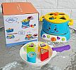 mainan anak - Magic Stove Shape Sorter QF366-039 - BLUE